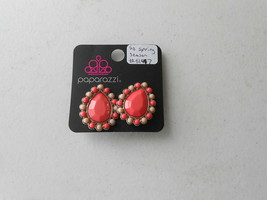 Paparazzi Clip-On Earrings (New) So Spring Season #5147 - $7.76