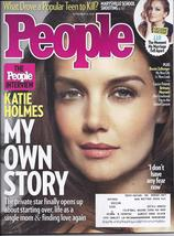 Katie Holmes @ People Magazine Nov 10, 2014 - $2.95
