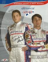 2006 STEPHEN LEICHT #90 CITI FINANCIAL NASCAR POSTCARD SIGNED - $10.75