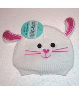 Wee Tots Brand Knit Bunny Rabbit Hat for 0-12 Months ~ Adorable ~ NWT Wh... - $9.16