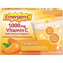 Emergen-C 1000 mg Vitamin C Daily Immune Support Tangerine, 30 Packets - $19.99