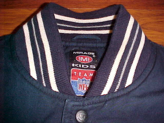Mirage For Kids Vintage NFL NFC East Dallas Cowboys Football YOUTH Jacket XL 4c382483e