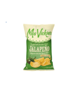4 Bags Miss Vickies Kettle Cooked Potato Chips Jalapeno 220g Canada FRESH TASTY - $32.42