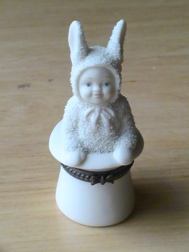 "Primary image for Dept. 56 2001 Snowbunnies ""Abracadabra"" Trinket Box"