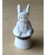 "Dept. 56 2001 Snowbunnies ""Abracadabra"" Trinket Box  - $20.00"
