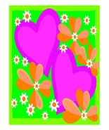 Heart and Flowers-Digital Download-ClipArt-ArtClip - $3.00