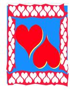 Hearts Frame-Digital Download-ClipArt-ArtClip - $4.00