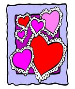 Hearts Frame01-Digital Download-ClipArt-ArtClip - $4.00