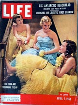 Life Magazine April 2, 1956   Full Magazine - $3.95