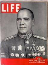 Life Magazine July 31 1944 - Full Magazine - $9.89
