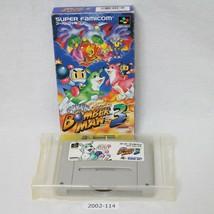Nintendo Snes Super Bomberman 3 Verpackt Aktiv Sfc Spiele 2002-114 - $24.24