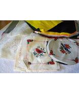 Decorative Fabric and Felt with Animals Birds P... - $3.89