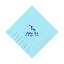 50 Personalized Stars Printed Beverage Cocktail Napkins  - $9.95+