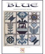 Blue Quilt Collection cross stitch chart CM Designs  - $7.65