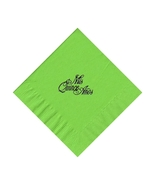 50 PERSONALIZED mis quince printed BEVERAGE cocktail NAPKINS - $9.95+