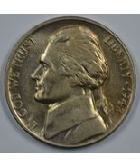 1942 D Jefferson uncirculated nickel BU   Some full steps  - $90.00