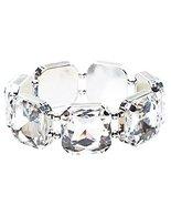 Bridal Wedding Jewelry Elegant 7 Piece Large Gl... - $12.60