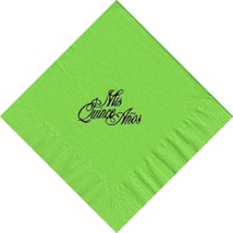 50 Personalized Mis Quince(Words) Printed Luncheon Dinner Napkins  - $11.95+