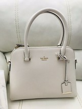 New Kate Spade Cameron Street Maise Bag Leather Cement NWT $298 - $188.05