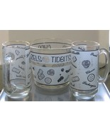 Vintage Starlyte Glass Snack Bowl with Mugs! Snacks, Tidbits, Pretzels, ... - $70.00