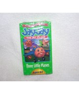 Jay Jay the Jet Plane THREE LITTLE PLANES VHS Video NEW! From 2000 - $7.96