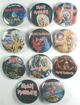 IRON MAIDEN 1980's Pinback Buttons 11 Different - $29.98