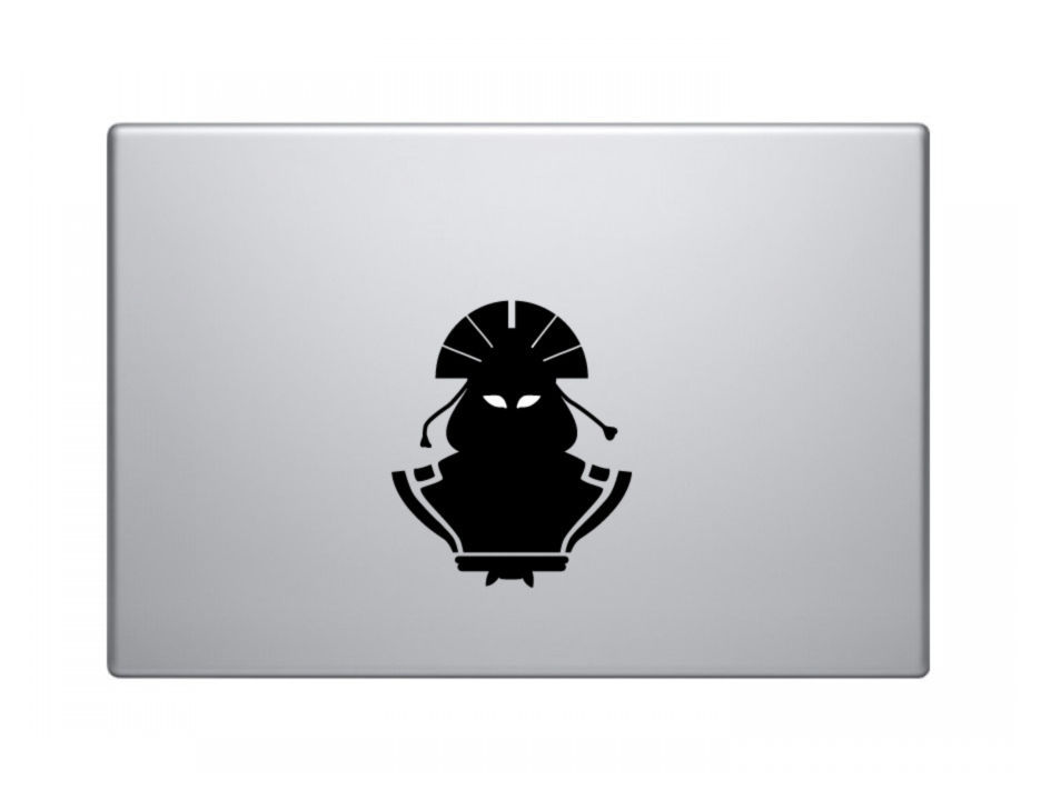 Avatar kyoshi the last airbender decal aang in the avatar state macbook decal