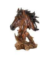 Stallion bust Polyresin finished to look like k... - $12.99