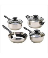 Cookware Set of Seven Culinary Essentials downpriced - $29.97