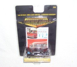 American Muscle Wide-Track Pontiac '62 Catalina Super Duty BLACK 1:64 Di... - $7.96