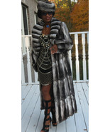 New Full length full pelt loose cut Empress Chinchilla Fur Coat Jacket M... - $12,999.99