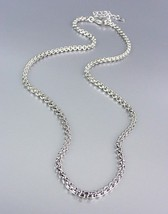 """Designer Style Silver Box Chains 24"""" Long Necklace Chain - $14.99"""