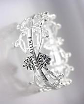 Inspirational Brighton Bay Silver Filigree Philippians 4:13 Stretch Bracelet - $14.10