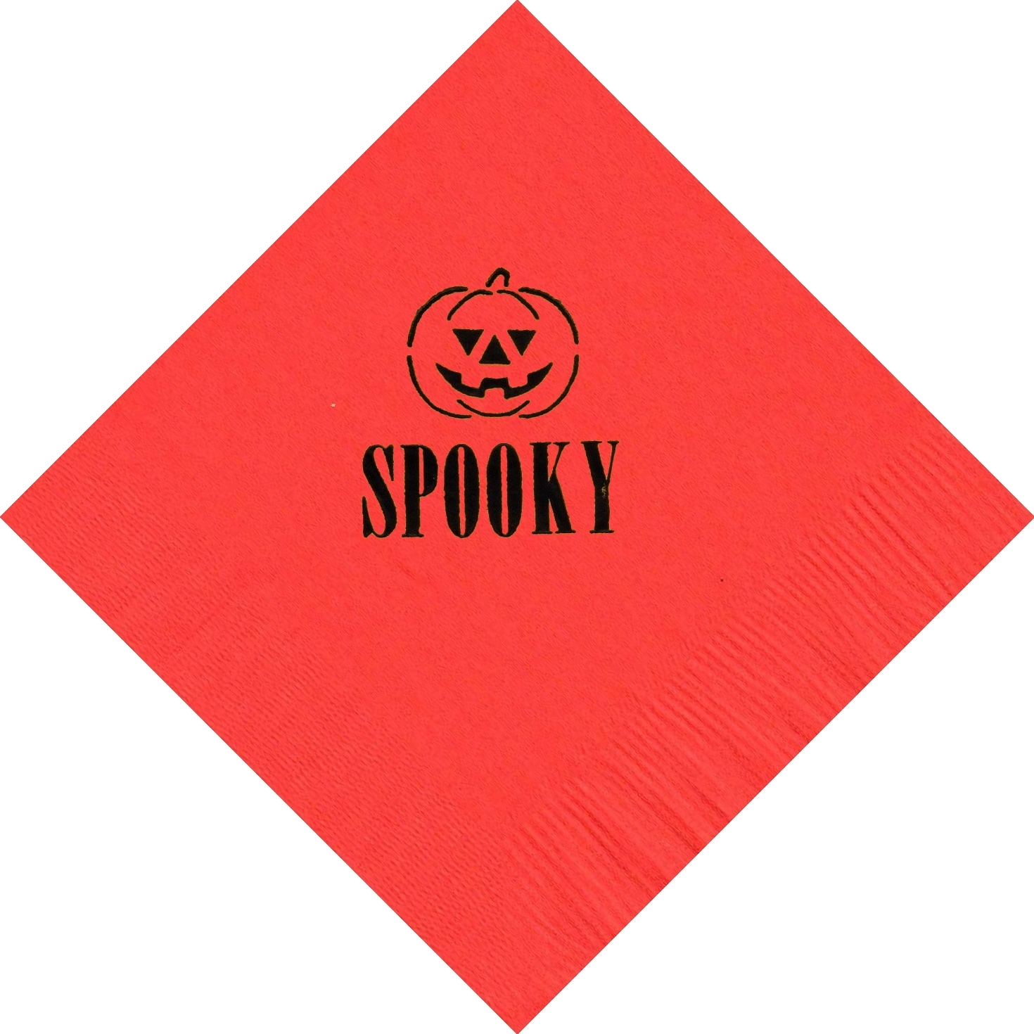 50 PERSONALIZED jack'o lantern printed Luncheon dinner NAPKINS with names or eve