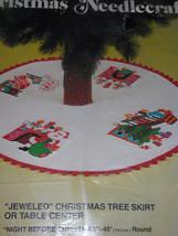 Night Before Christmas Vintage Tree Skirt Stitchery Kit by Bucilla - $86.99