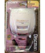 NEW NIB Sony Discman D-E200 SC ESP2 Digital Mega Bass Portable CD FREE ... - $99.99