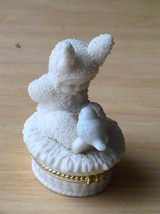 "Dept. 56 2001 Snowbunnies ""Tweet, Tweet, Tweet"" Trinket Box  - $20.00"