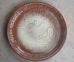 FRANKOMA 75TH ANNIVERSARY NORMAN OKLAHOMA PLATE 1889-1964 Rare! - $38.96