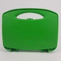 Playmobil Green Take Along Carry Case Storage Travel Geobra 2016 Plastic - $6.99