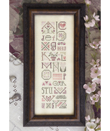 Love Letters valentine cross stitch chart Drawn Thread - $9.00