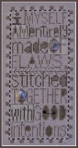 Flaws Charmed Sampler w/embellishmentscharm cross stitch chart Hinzeit - $12.60