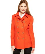 MICHAEL Michael Kors Double-Breasted Wool-Blend Peacoat Sz:  8 and 16 - $189.00