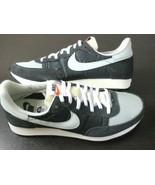 Nike Mens Challenger OG Running Shoes Off Noir Light Silver Retro Size 8... - $102.89