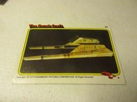 1979 Paramount Star Trek Motion Picture #53 The Surak Craft - $1.97