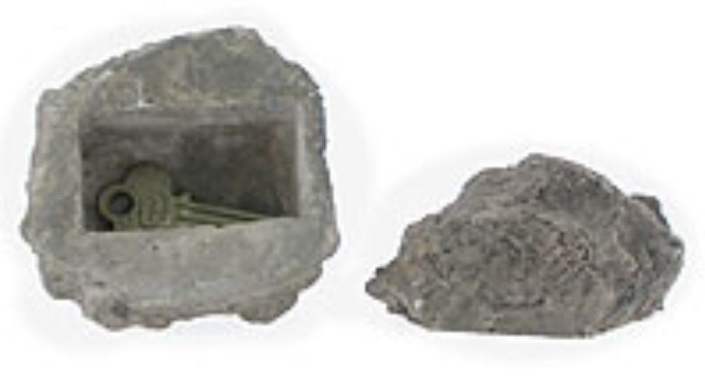 Rock Key Hider Granite