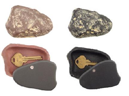 Rock Key Hider Brown