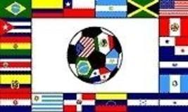 South American Soccer 3 X5' Flag Big New 3'x5' Futbol - $8.45