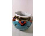 Southwestern style pot turquoise orange pottery 01 thumb155 crop