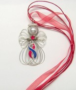 Congenital Heart Defects Awareness Ribbon Angel... - $11.00