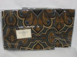 1 Tommy Hilfiger BEEKMAN PLACE Paisley velvet king sham New - $37.95